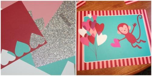 Valentines layout