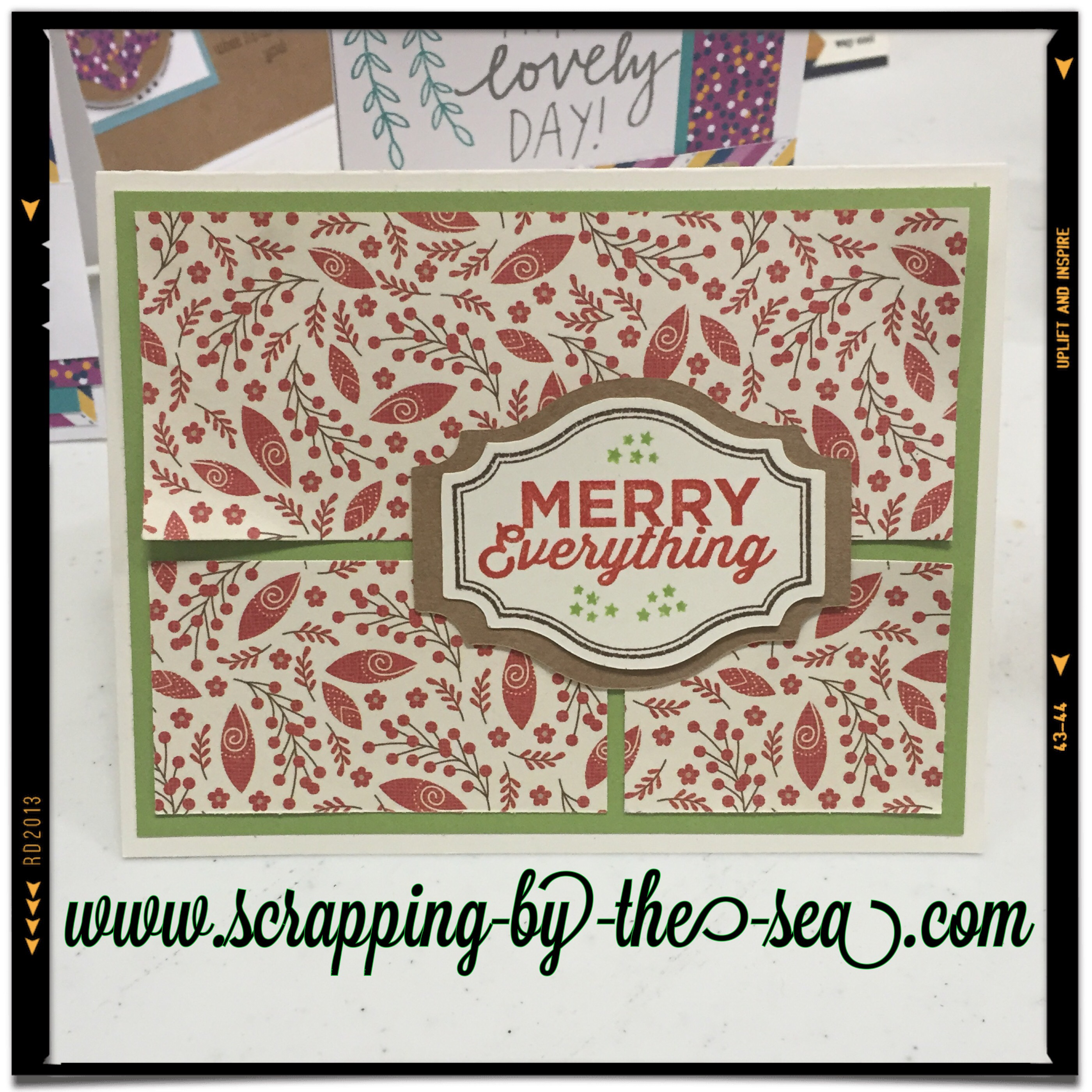 Close To My Heart Card Making Ideas Part - 39: Itu0027s Never To Early To Start On Christmas Cards. And This Months Stamp Of  The Month Is Great For Christmas Cards. I Made These Two For Our Card  Buffet And ...